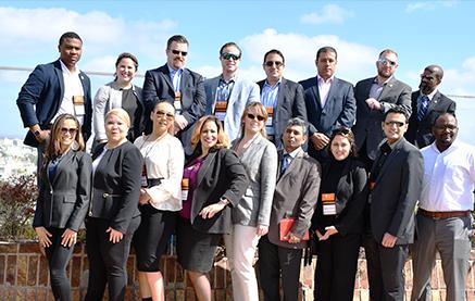 Estudiantes de la Universidad de Dallas visitaron ANCAP en el marco de gira por América Latina